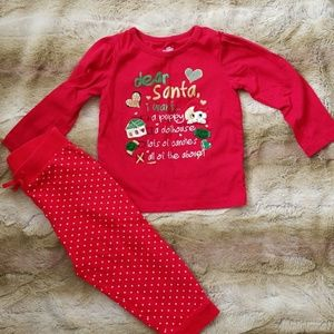 Jumping Beans Christmas outfit